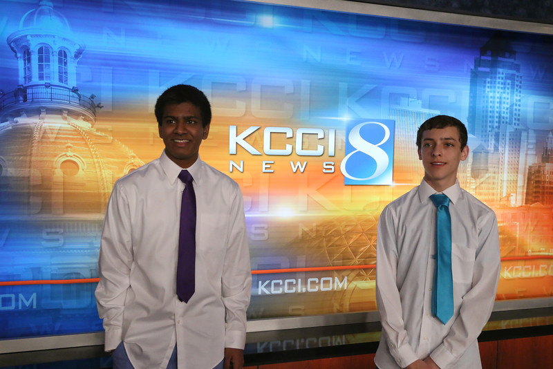 KCCI studio shoot