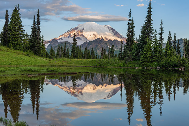 Mt. Rainier Tipsoo Reflection