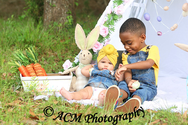 Mason & Brylenn Easter 19