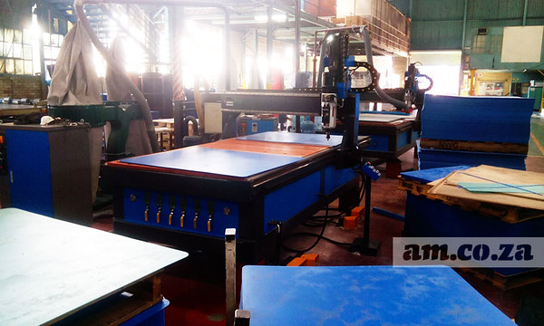 Twin-Station CNC Router Ordered by Ampaglas Got Video Shoot