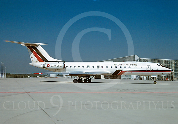 Bulgarian Air Force Tupolev Tu-134 Airplane Pictures