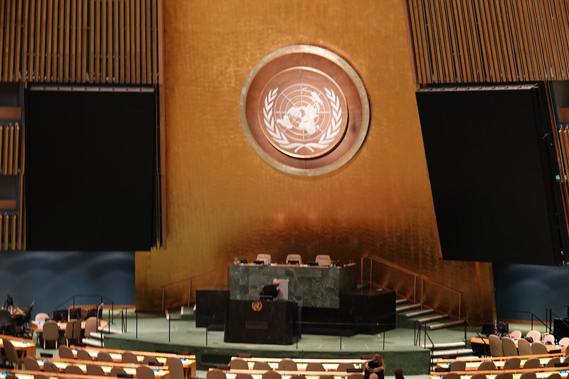 General Assembly, United Nations, New York.