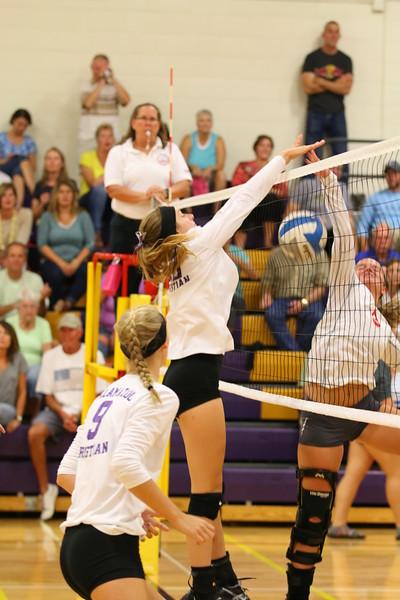 Volleyball vs. Constantine - KCHS - 9/19/16