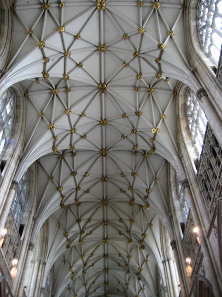 Nave ceiling, York Minster