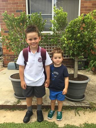 William Starts School