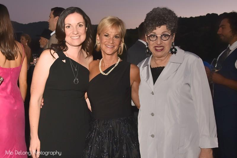 Erika McGuire, Kathleen Woodcock and Carole Mills