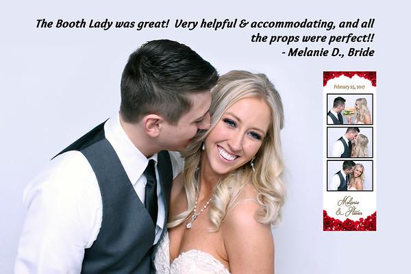 Photo Booth Reviews Melanie & Steven