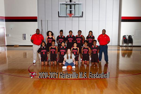 2020-2021 MS Girls Basketball
