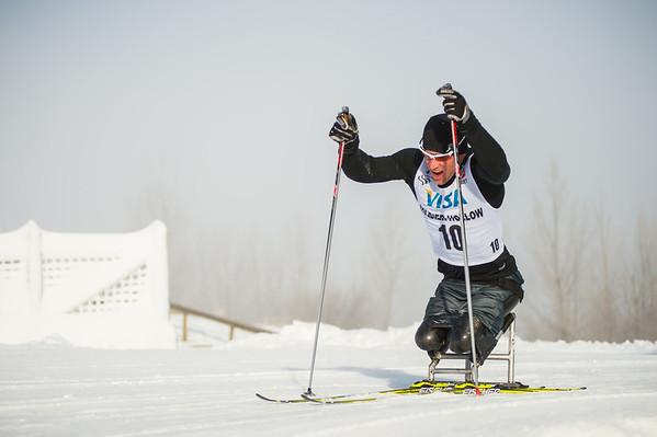 US Ed:  20140103  Paralympics Nordic Skiing Nationals--XC