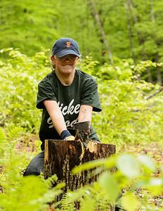 Woodsplitting: A final workperiod