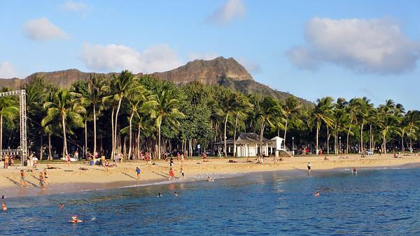 Waikiki Beach Area