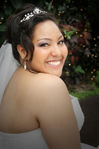 Beautiful April Bride