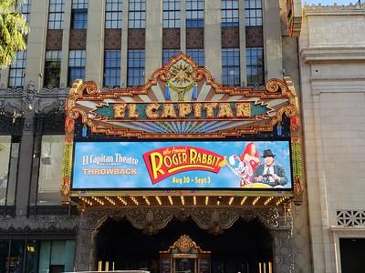 El Capitan Theatre - Who Framed Roger Rabbit (2018)