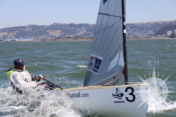 Finn Gold Cup 2010 Race 9