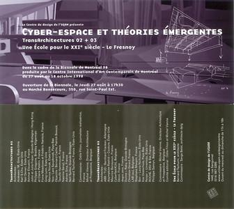 Cyber-espace et théories émergentes _9899