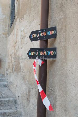 Girona Spain Old Town Night Crit