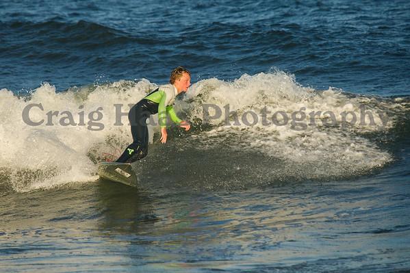 Avon Surfing & Shark River Sunset