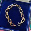 Vintage Yellow Gold Bracelet, 18kt 4