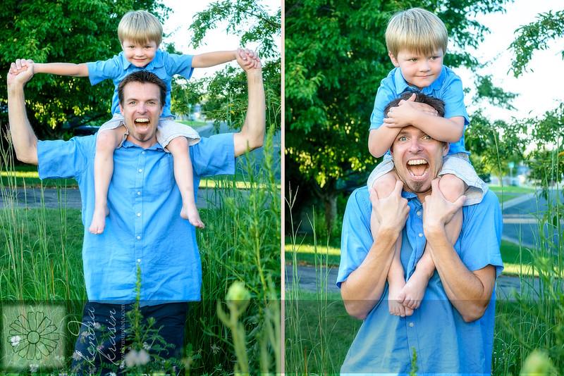 Aksel & Dad