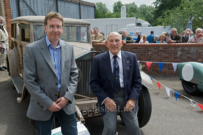 Sir Stirling Moss at Bury St Edmunds, May 2011