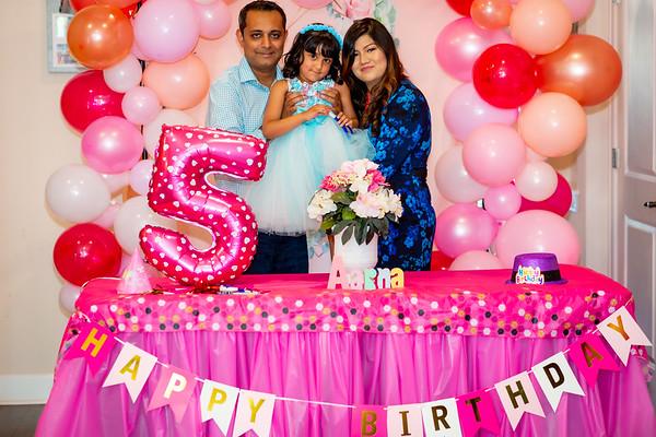 Aarna's 5th Birthday