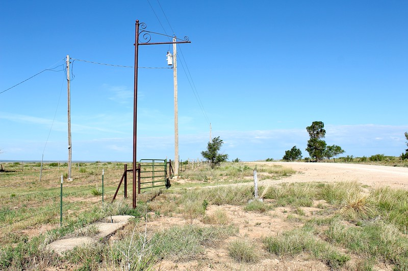 Historic service station site along Route 66 (2020)