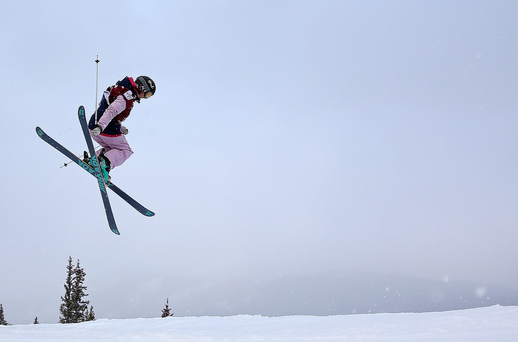 . Anna Mirtova of Russia competes during qualifying for the women\'s FIS Ski Slopestyle World Cup at U.S. Snowboarding and Freeskiing Grand Prix on December 20, 2013 in Copper Mountain, Colorado.  (Photo by Mike Ehrmann/Getty Images)