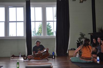 Ashtanga Yoga with Tim Miller at Mt. Shasta-8/09