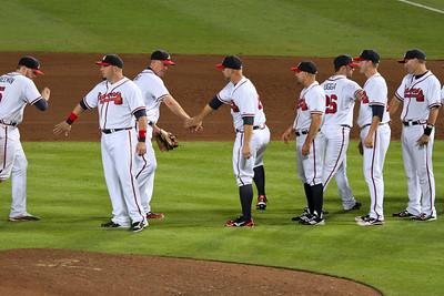 Field in Focus : Braves vs Rockies: 5 Sept 2012