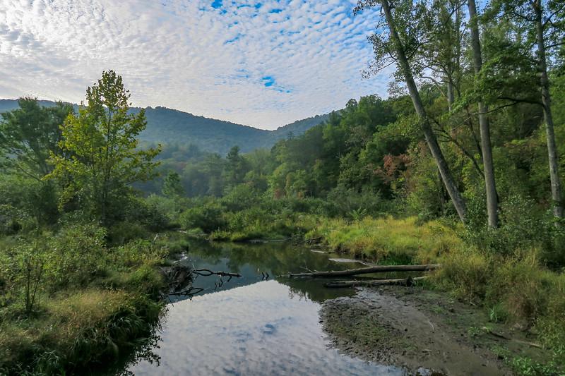 Bent Creek - Campground Connector/Deerfield Loop  (2.8 miles; d=3.40)