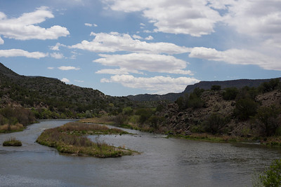 Rio Grande River and Gorge-may 2014