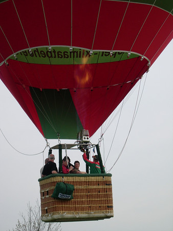 Ballonvaart mama & papa