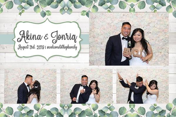 Akina and Jonriq