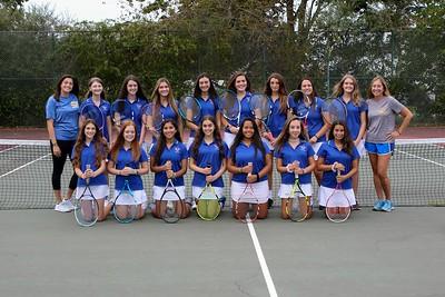 Girls Varsity Tennis B –2019