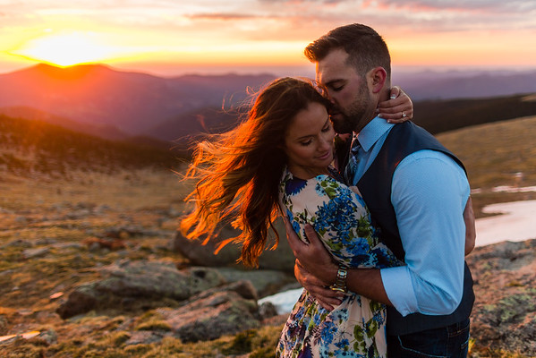 Kylee & Gil | June 2016 | Mt. Evans, CO | Chris