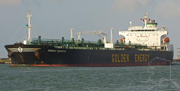 Ships Going Through Port Aransas