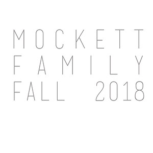 Mockett Family Fall 2018