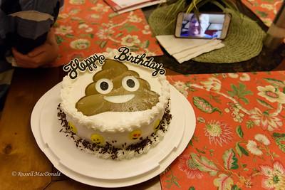 2017-05-06 Will's 9th Birthday Cake