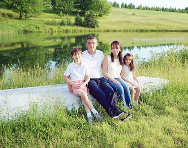 Gabor, Julia and Family