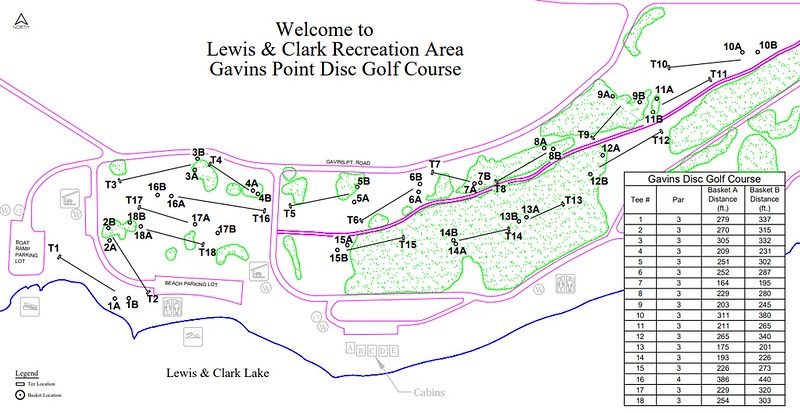 Lewis and Clark Recreation Area (Gavin's Point Disk Golf Course)