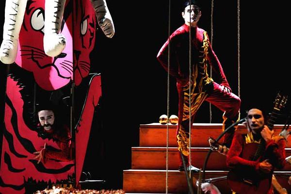 Marcido marcidorjs famosa mimosa theater company, scenography, Milano
