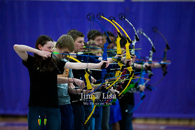 Archery Tournament, January 27
