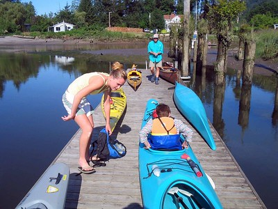 Columbia River Elderhostel Kayaking Part 7