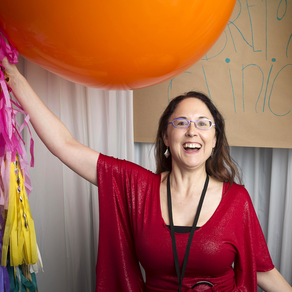 Being Silly at the Photobooth in the Bremen Clinical Mini Party During Alt Winter 2014