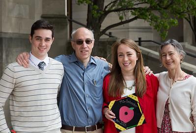 Isabel's B.U. Graduation, May 2015
