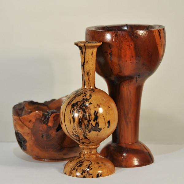 Studio Wood Vases~0418-1sq.