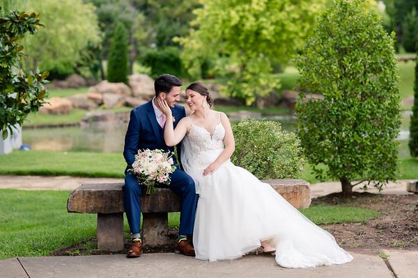 Coles Garden | Oklahoma City, OK | Nicole & Dakota Wedding
