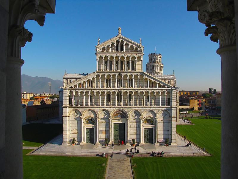 the Duomo in Pisa
