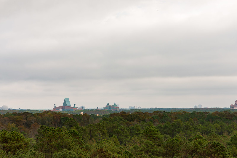 Vew from the top of Expedition Everest - Animal Kingdom Walt Disney World