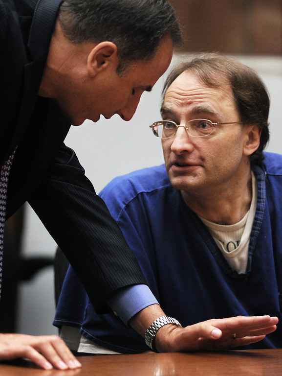 . District Attorney Habib Balian, who was the prosecutor speaking to Christian Karl Gerhartsreiter during court before Los Angeles Superior Court judge Wednesday, August 15, 2013, sentenced a man who once posed as Clark Rockefeller to 27 years to life for murdering John Sohus in 1985. Christian Karl Gerhartsreiter, 52, will return to court next month for a restitution hearing. He has 60 days to file an appeal.(SGVN/Photo by Walt Mancini)